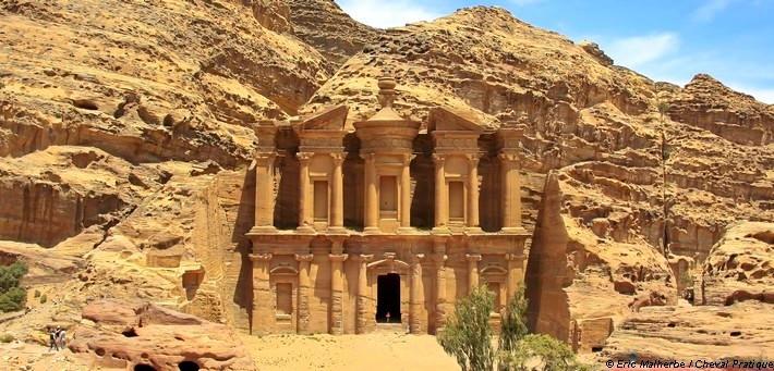 Site de Petra en Jordanie