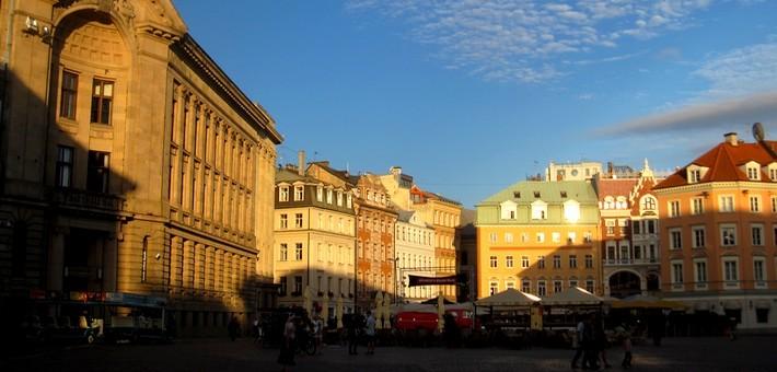 Centre ville de Riga