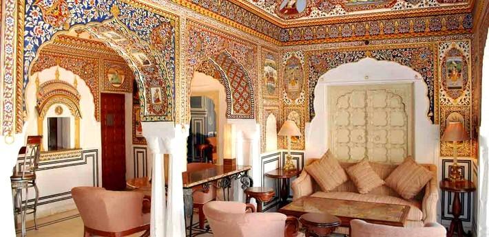 Le palais de Mandawa.
