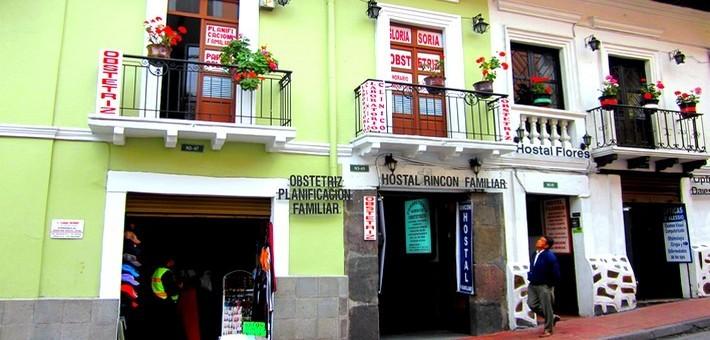 Architecture de style coloniale dans les rues de Quito