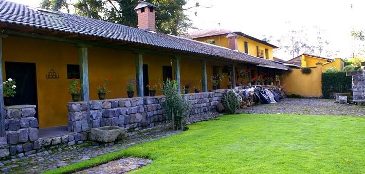 Cour intérieure d'une Hacienda