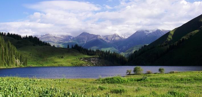 Zones géographiques de la Kirghizie