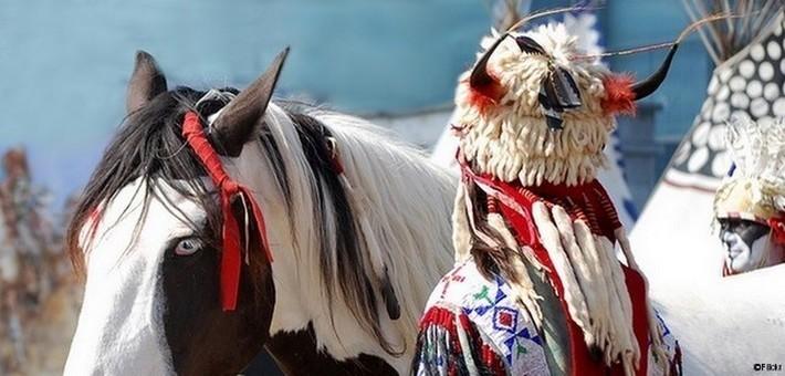 Les rodéos autochtones amérindiens