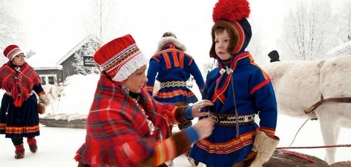 Les activités traditionnelles sami