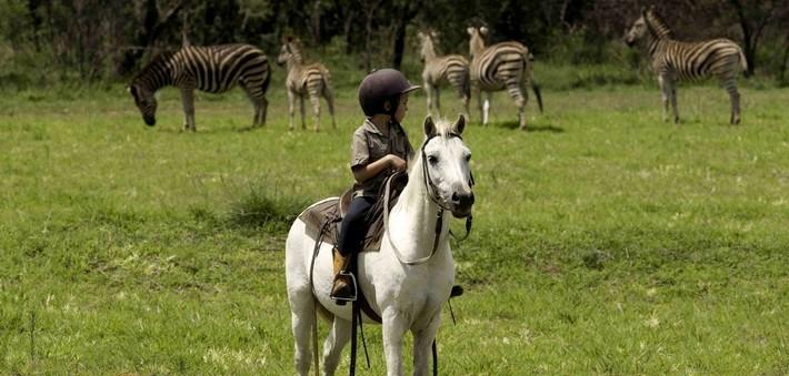Un safari à cheval avec des enfants ou des non-cavaliers ?