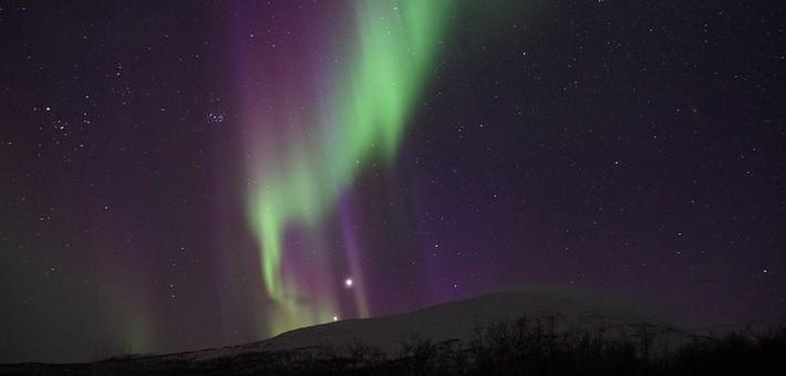 Quand observer les aurores boréales en Suède