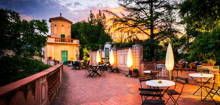 hôtel Les jardins de la Martana - Caval&go