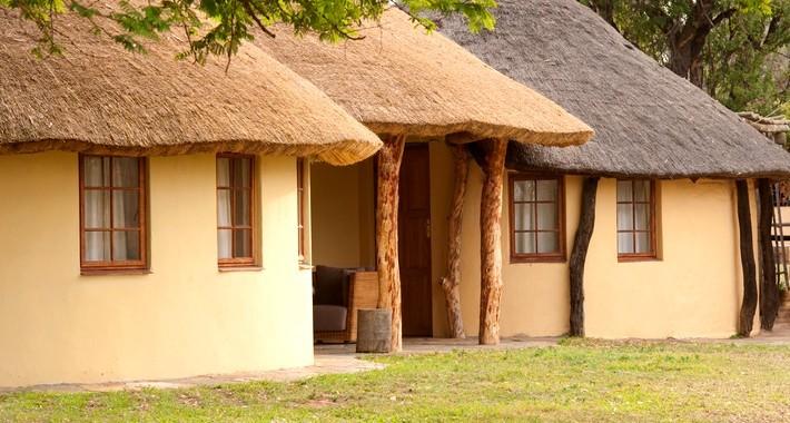 Cottage dans une réserve africaine