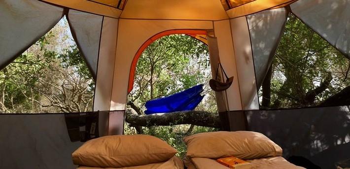 Campement mobile Delta de l'Okavango au Botswana
