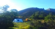 Randonnée équestre dans les Andes - Bivouac
