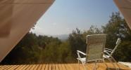 Terrasse du Quincho au Chili