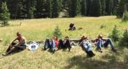 Bivouac du convoyage de chevaux dans l'Idaho - Caval&go