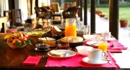 La table du petit déjeuner