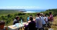 Randonnée à cheval sur les crêtes des Monts d'Arrée en Bretagne - Repas