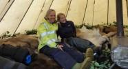 Tentes traditionnelles sami Caval&go