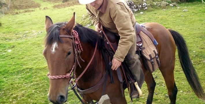 Dans la peau d'un cowboy en Angleterre