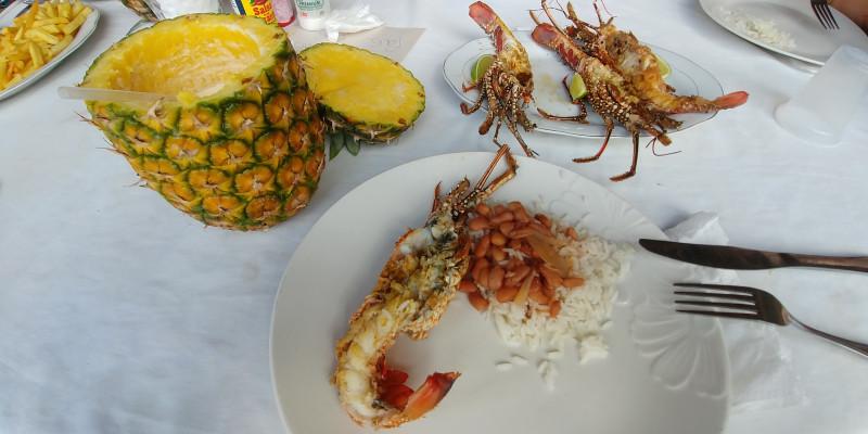 Déjeuner à la plage