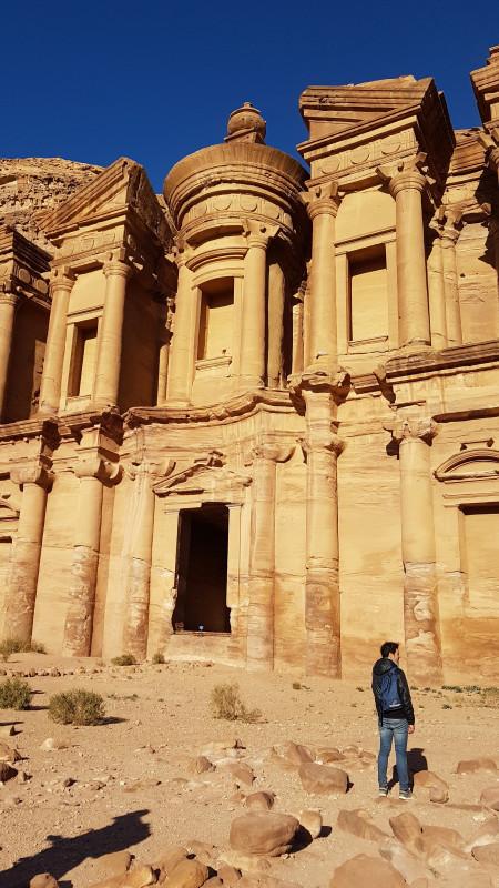 Le Monastère de Pétra