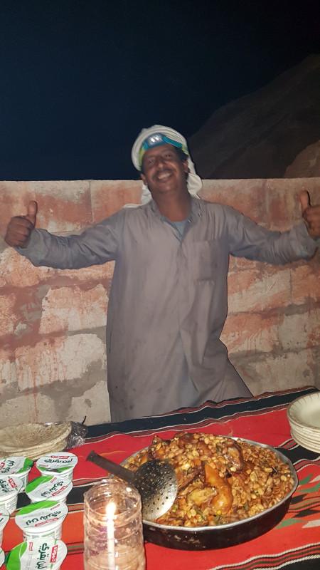 Notre Cuisinier du désert