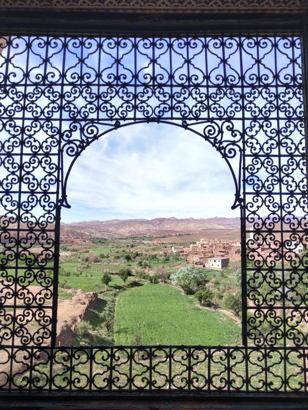 Telouet, vue de la Casbah du Pacha Glaoui
