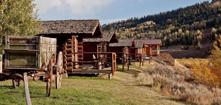 Vacances cheval aux etats unis dans un ranch du wyoming for Jackson wyoming alloggio cabine