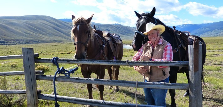 Equitation western aux Etats-Unis en guest ranch du Wyoming