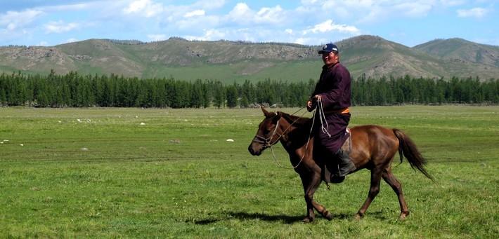 trek en mongolie avec guide