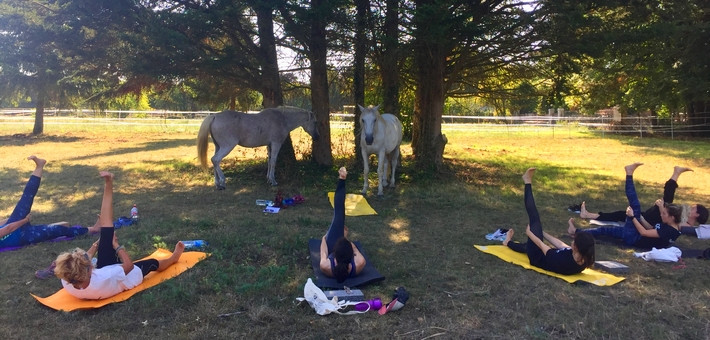 Week-end à cheval en forêt de Fontainebleau, Yoga & Spa - Caval&go